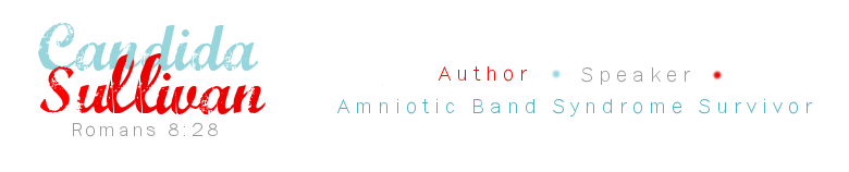 Candida Sullivan author, amniotic band syndrome survivor